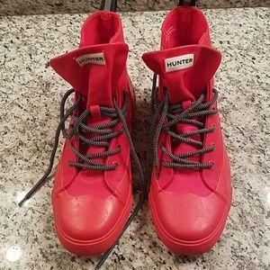 Hunter  canvas rain boots
